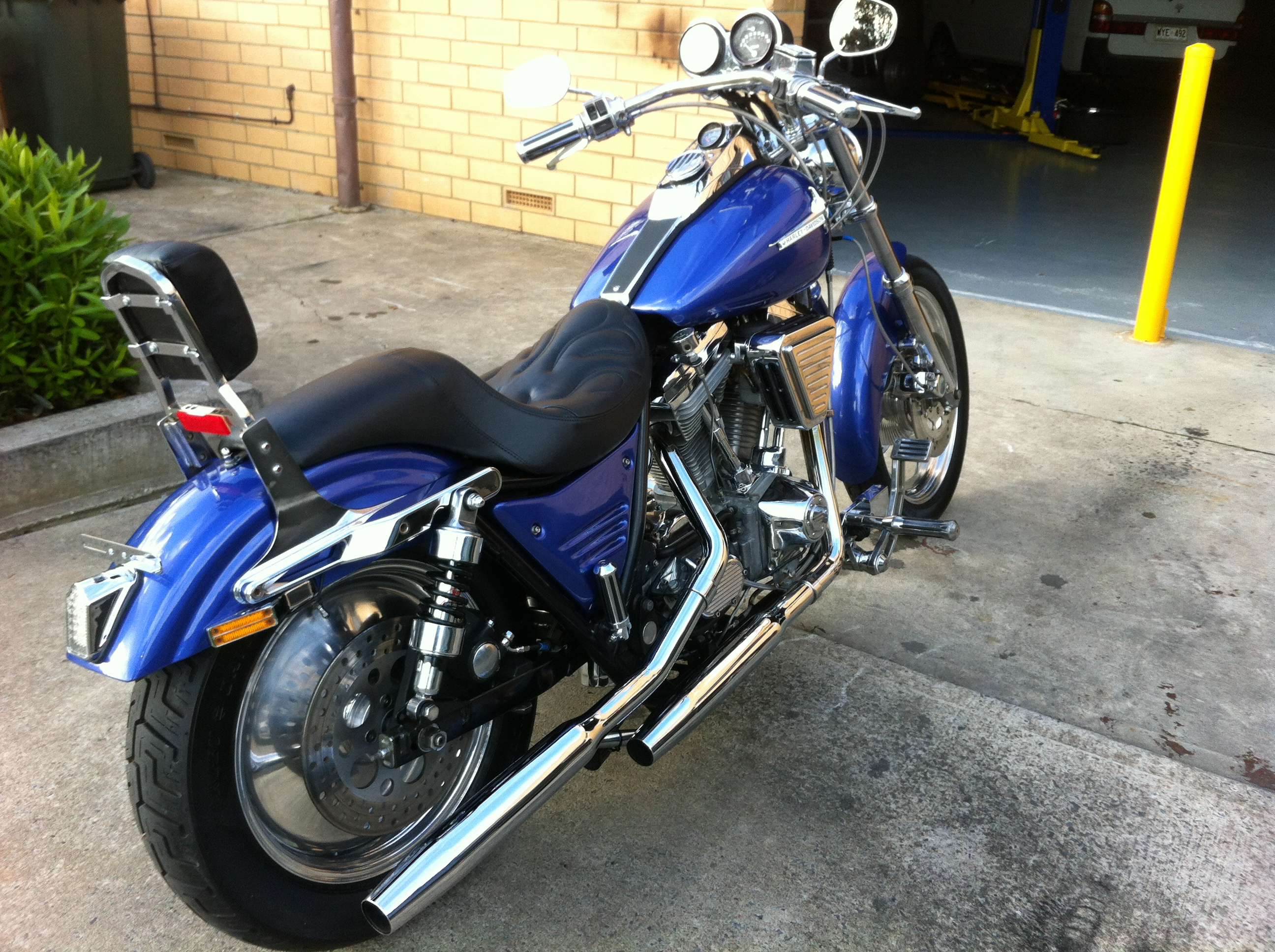 Harley-Davidson FXST 1340 Softail (reduced effect) 1988 #10