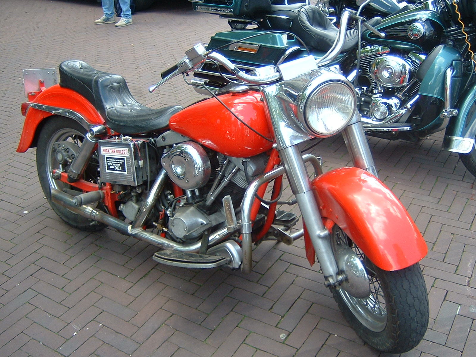 Harley-Davidson FXST 1340 Softail (reduced effect) 1988 #11