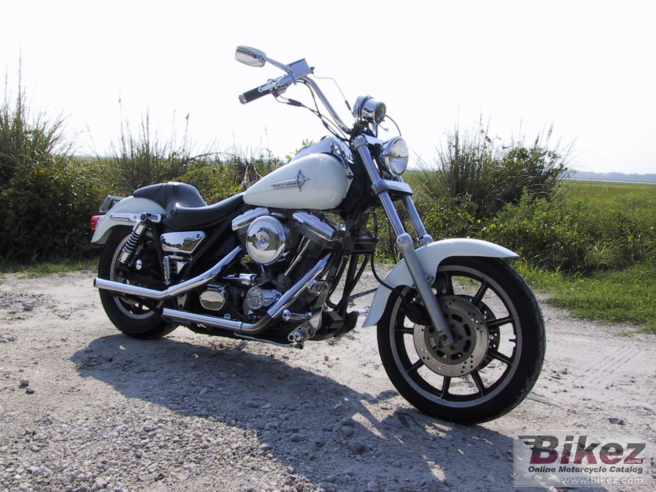 Harley-Davidson FXST 1340 Softail (reduced effect) 1988 #7