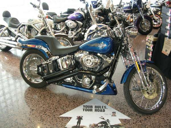 Harley-Davidson FXSTS Softail Springer 2006 #12