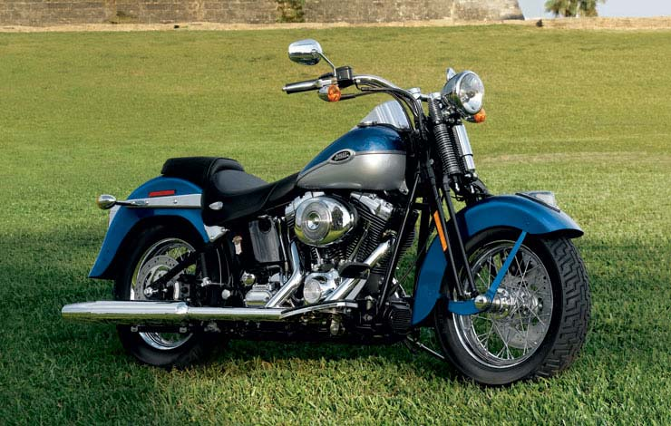 Harley-Davidson FXSTS Softail Springer 2006 #7