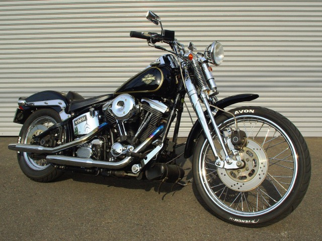 Harley-Davidson FXSTS Springer Softail 2002 #11