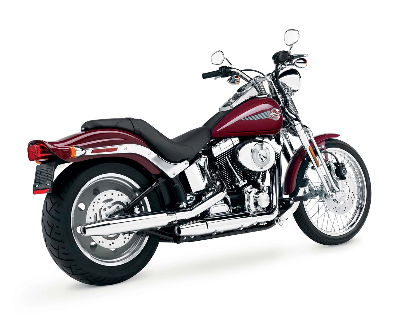 Harley-Davidson FXSTS Springer Softail 2002 #3