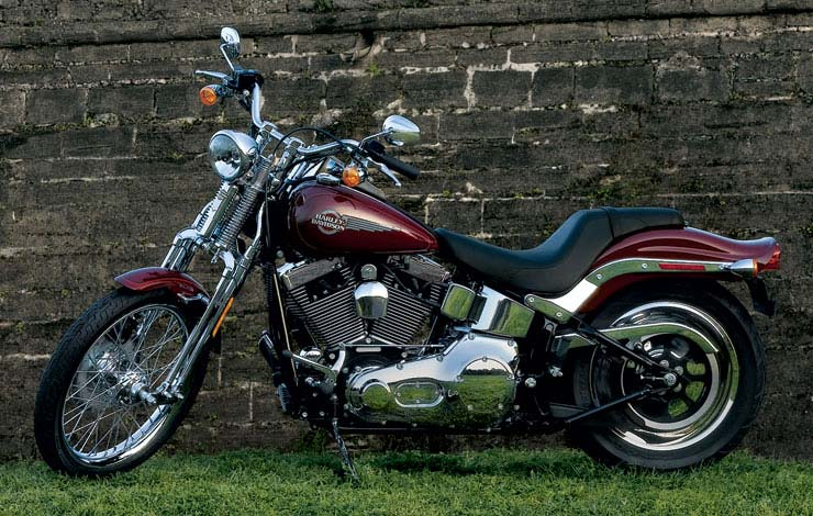 Harley-Davidson FXSTS Springer Softail 2002 #5