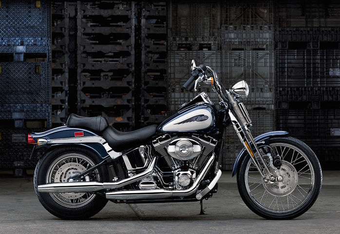 Harley-Davidson FXSTS Springer Softail 2002 #6