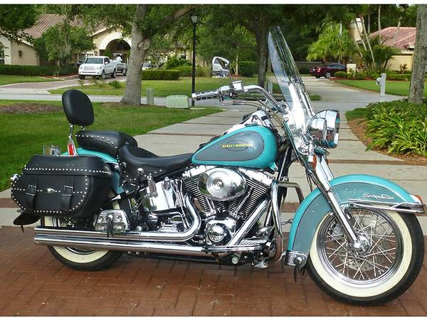 Harley-Davidson Heritage Softail Classic Injection 2001 #14