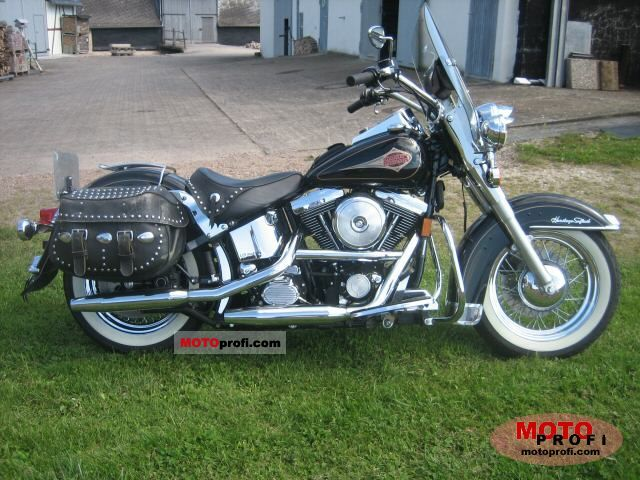 Harley-Davidson Heritage Softail Classic Injection 2001 #6