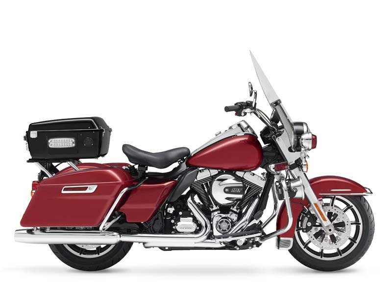 Harley-Davidson Road King Fire - Rescue 2014 #1