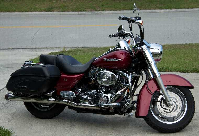 Harley-Davidson Road King Fire - Rescue 2014 #6
