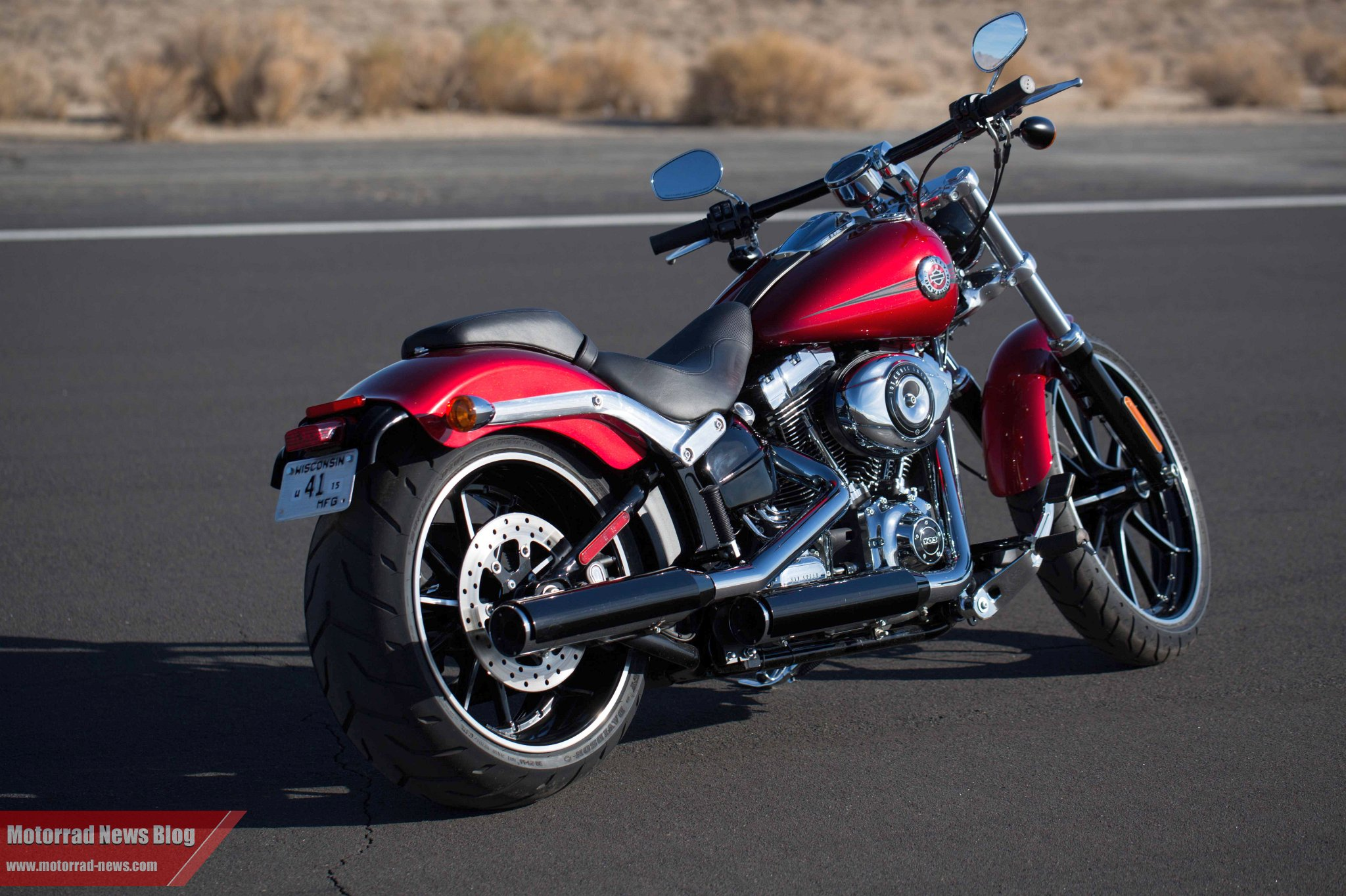 Harley-Davidson Softail Breakout Special Edition #8