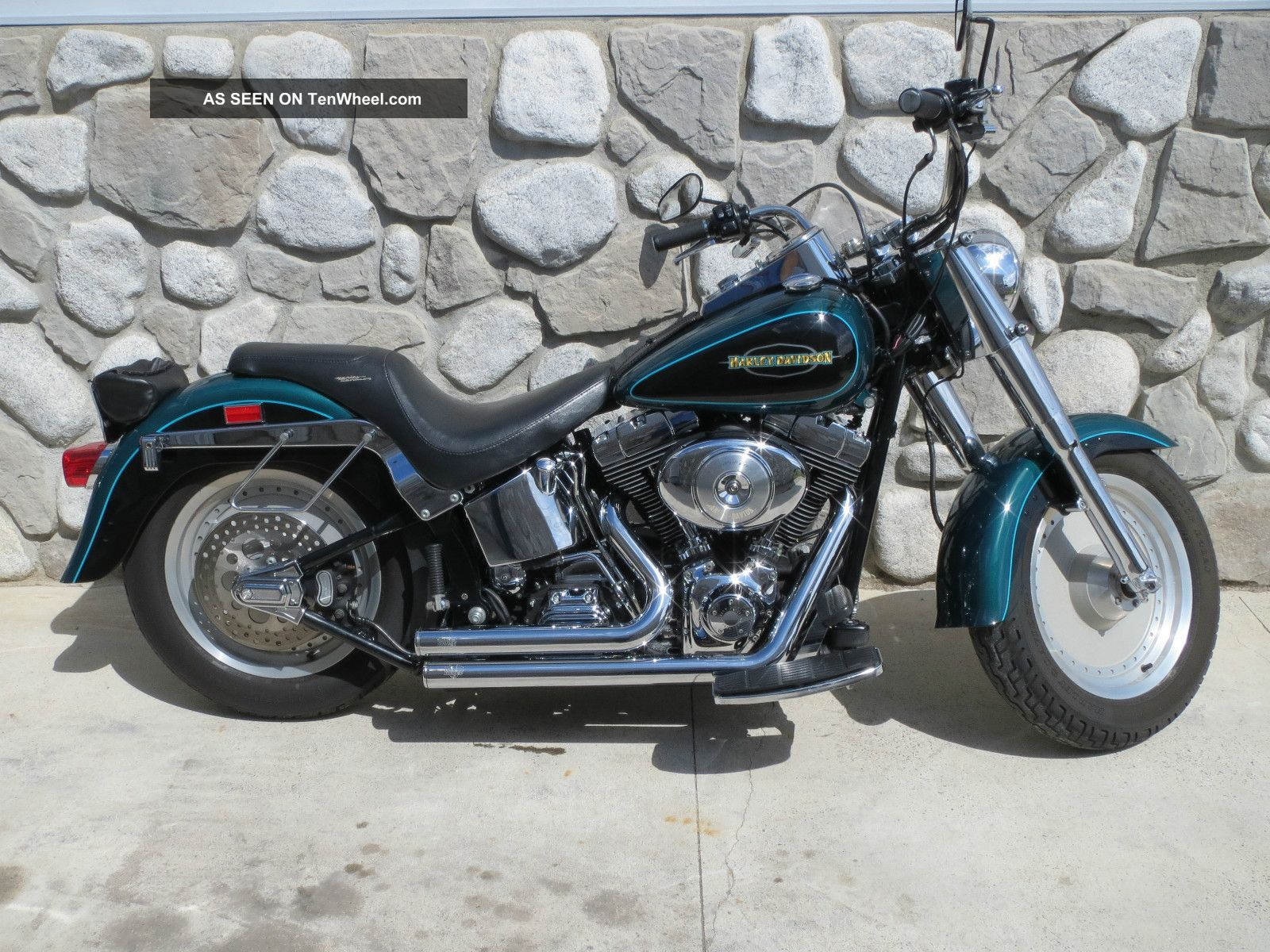 Harley-Davidson Softail Fat Boy 1998 #10