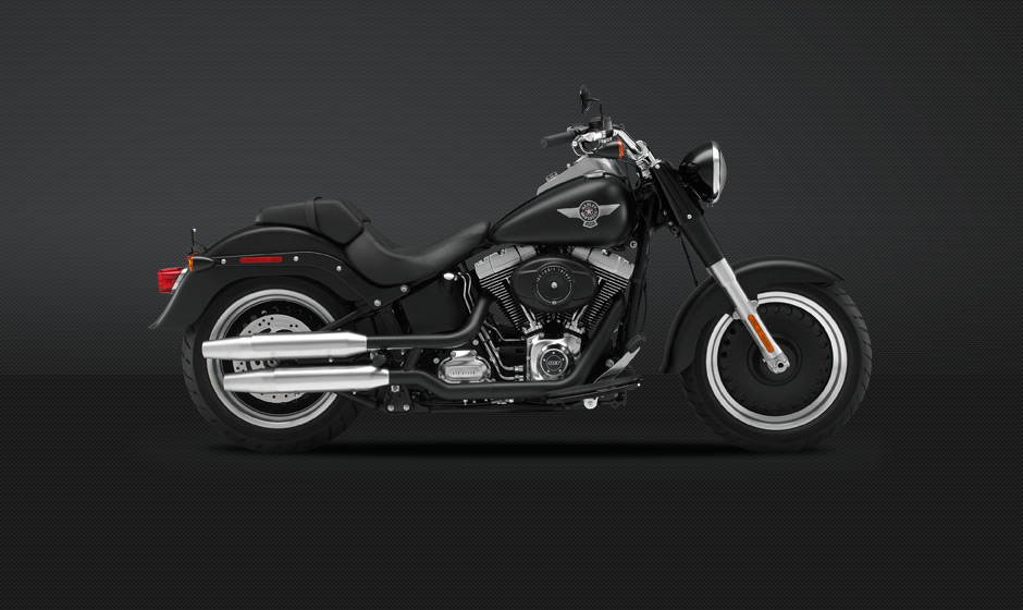 2013 Harley-Davidson Softail Fat Boy Lo #10