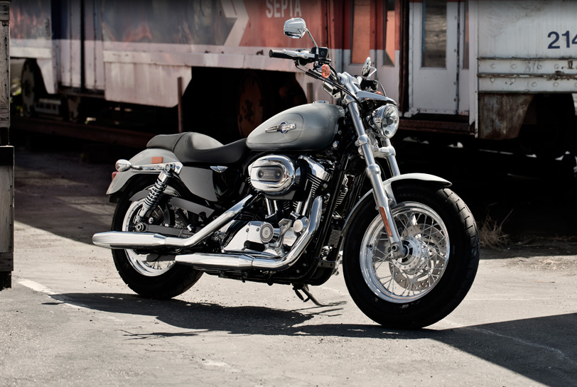 Harley Davidson Sportster  Custom Review