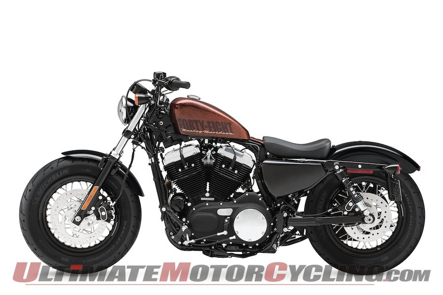 Harley-Davidson Sportster Forty-Eight Dark Custom 2014 #1