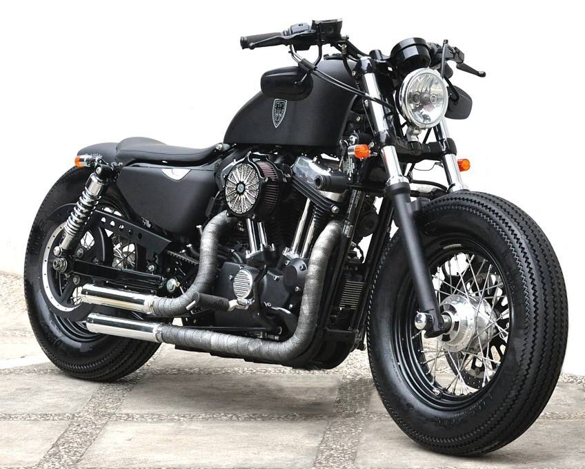 Harley-Davidson Sportster Forty-Eight Dark Custom 2014 #12