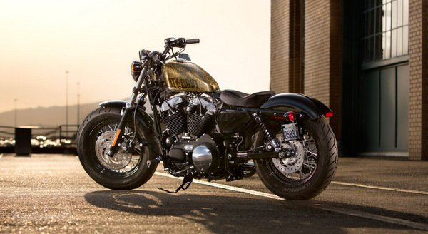 Harley-Davidson Sportster Forty-Eight Dark Custom 2014 #13