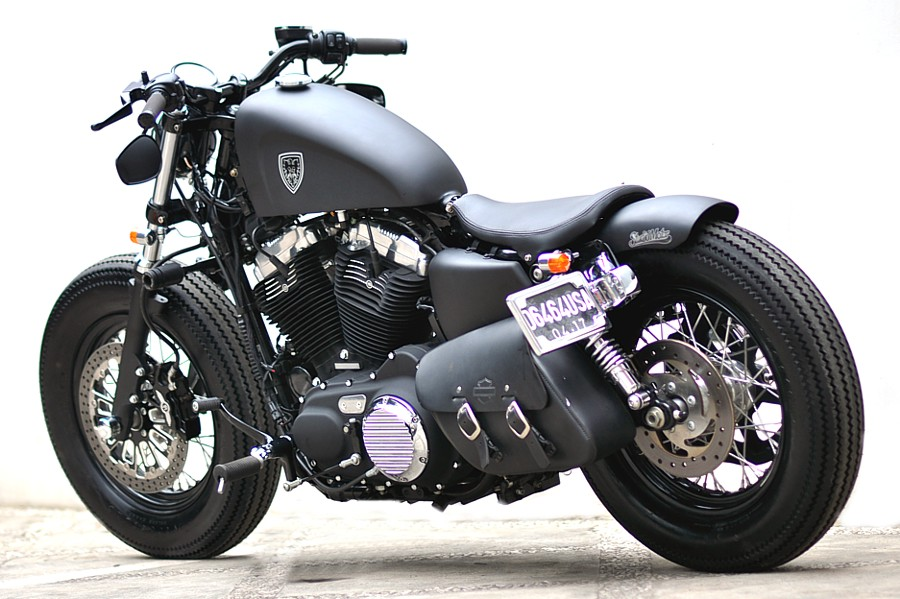 Harley-Davidson Sportster Forty-Eight Dark Custom 2014 #3