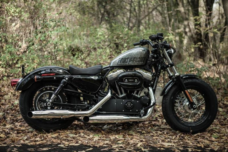 Harley-Davidson Sportster Forty-Eight Dark Custom 2014 #4