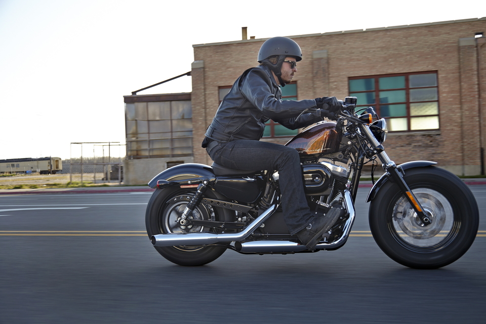 Harley-Davidson Sportster Forty-Eight Dark Custom 2014 #8
