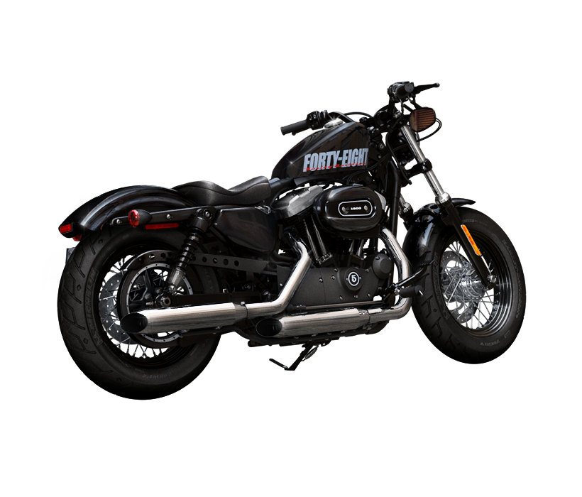 Harley-Davidson Sportster Forty-Eight Dark Custom 2014 #9
