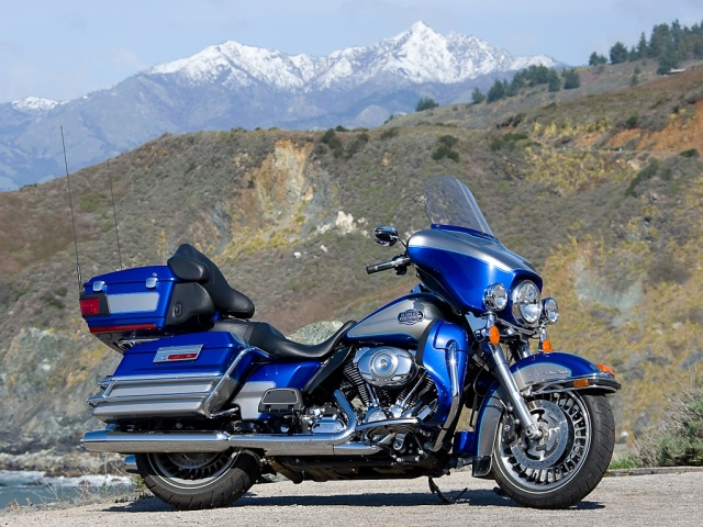 Harley-Davidson Tour Glide Ultra Classic (reduced effect) 1990 #14