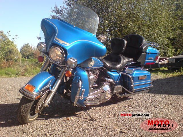 Harley-Davidson Tour Glide Ultra Classic (reduced effect) 1992 #10