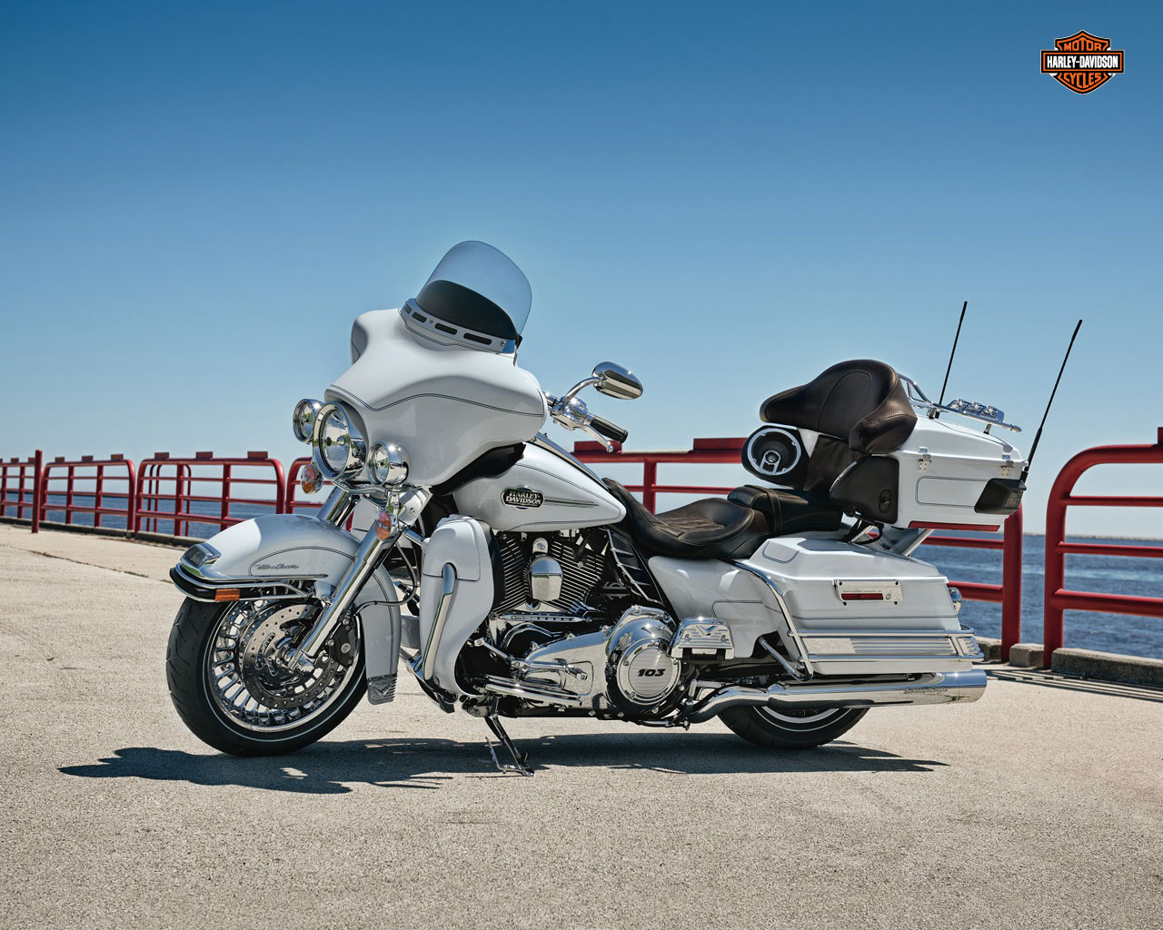 Harley-Davidson Tour Glide Ultra Classic (reduced effect) 1992 #5