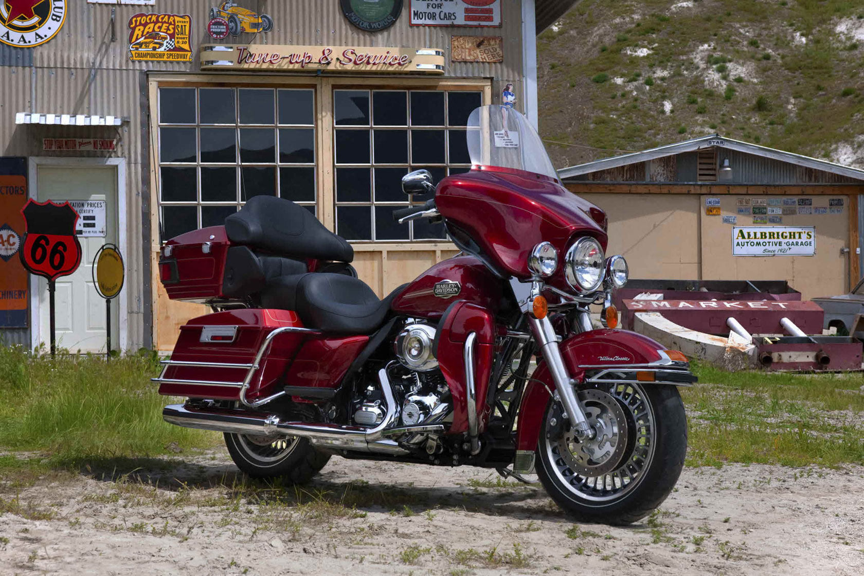 Harley-Davidson Tour Glide Ultra Classic (reduced effect) 1992 #7