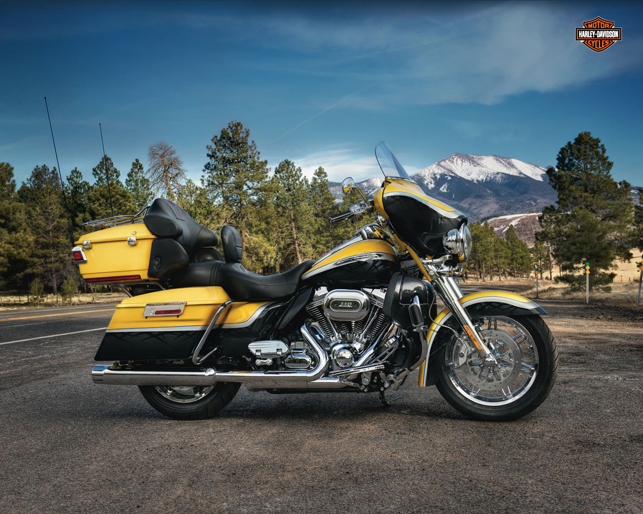 Harley-Davidson Tour Glide Ultra Classic (reduced effect) 1992 #8