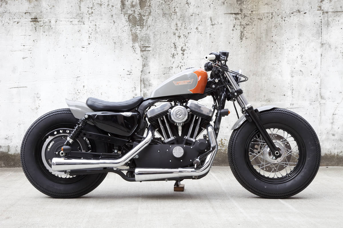 Harley Davidson Xl 1200x Sportster Forty Eight Image 12