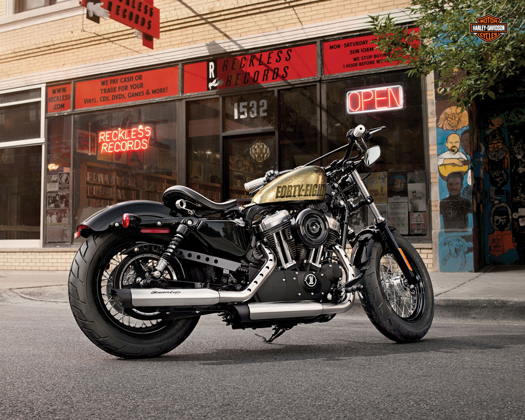 Harley-Davidson XL1200X Springer Forty-Eight #7