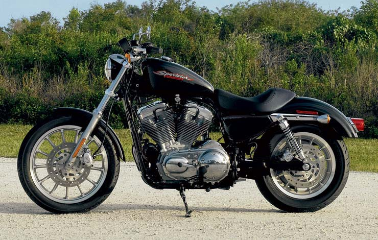 Harley-Davidson XLH Sportster 1200 (reduced effect) #12