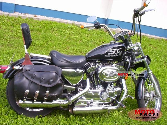 Harley-Davidson XLH Sportster 1200 (reduced effect) #13