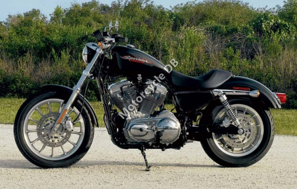 Harley-Davidson XLH Sportster 1200 (reduced effect) 1989 #14