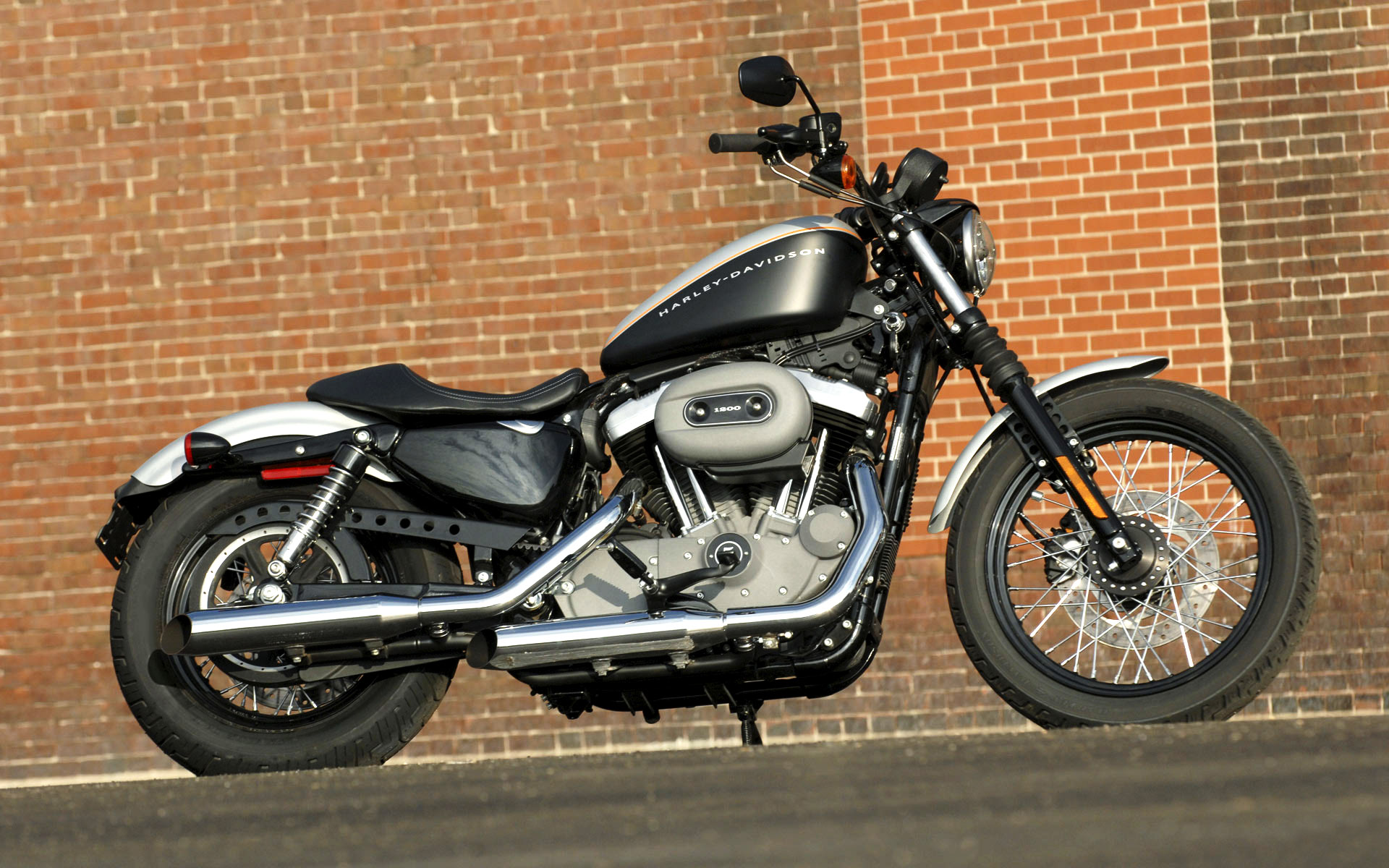 Harley-Davidson XLH Sportster 1200 (reduced effect) 1989 #6