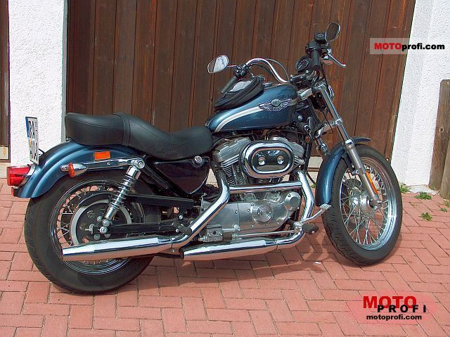 Harley-Davidson XLH Sportster 883 Evolution (reduced effect) 1986 #1