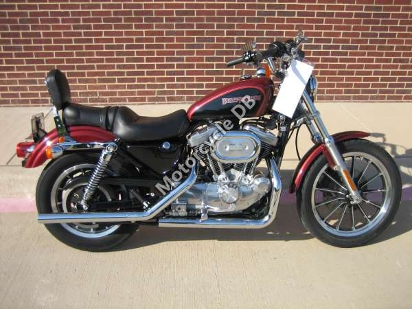1992 Harley-Davidson XLH Sportster 883 Standard (reduced effect) #12