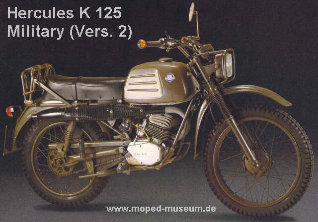 Hercules K 125 Military Sparking the Performance #2