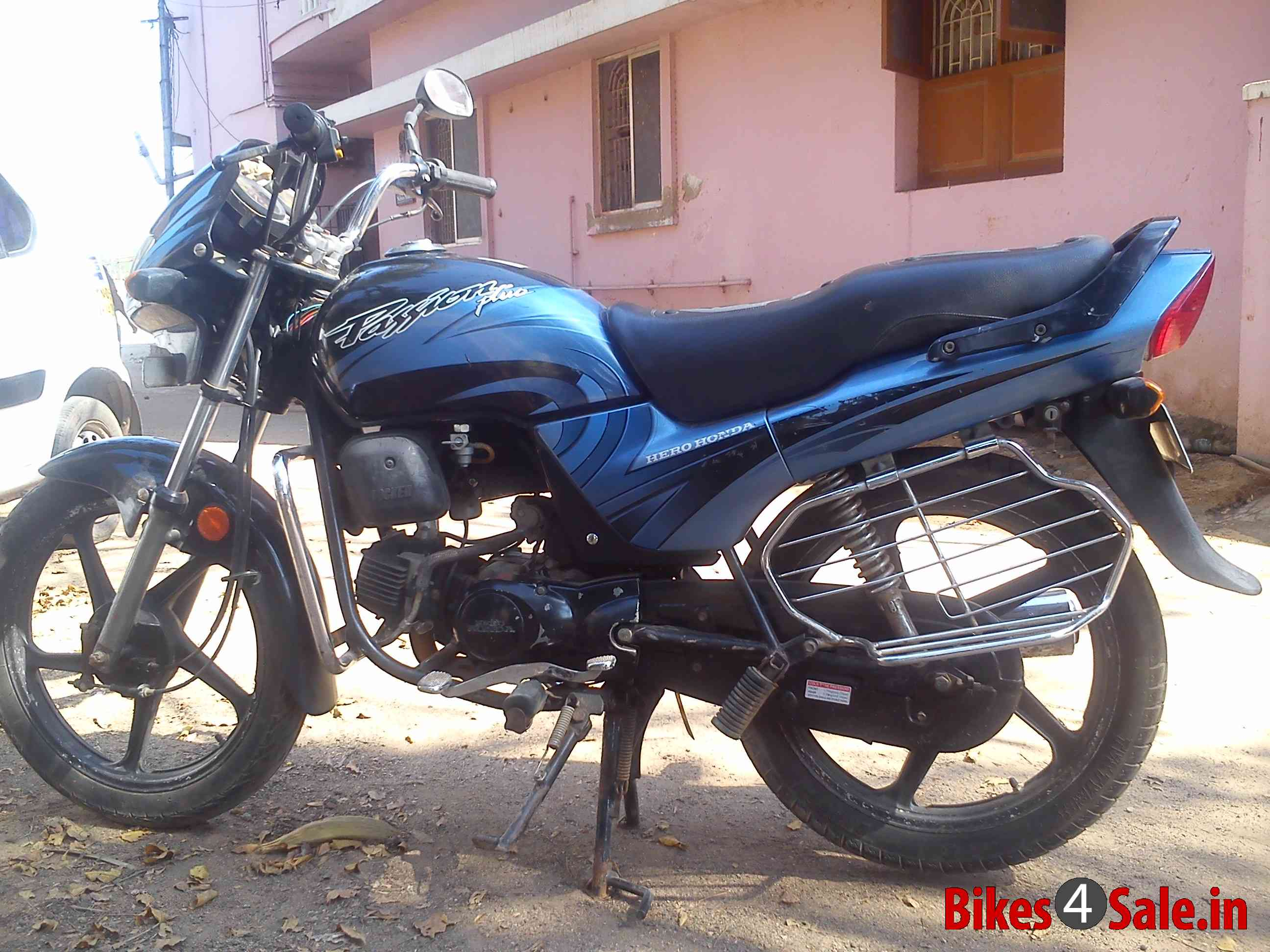 Hero Honda Passion Plus 2008 #10