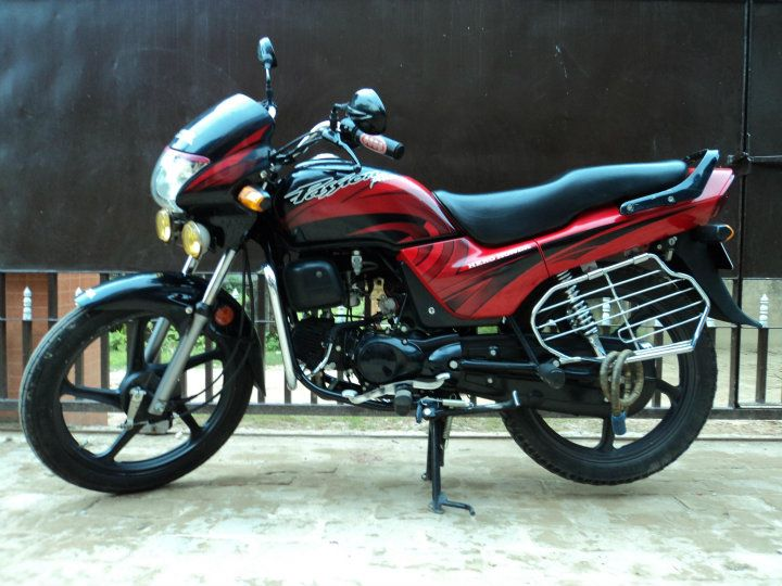 Hero Honda Passion Plus 2008 #5