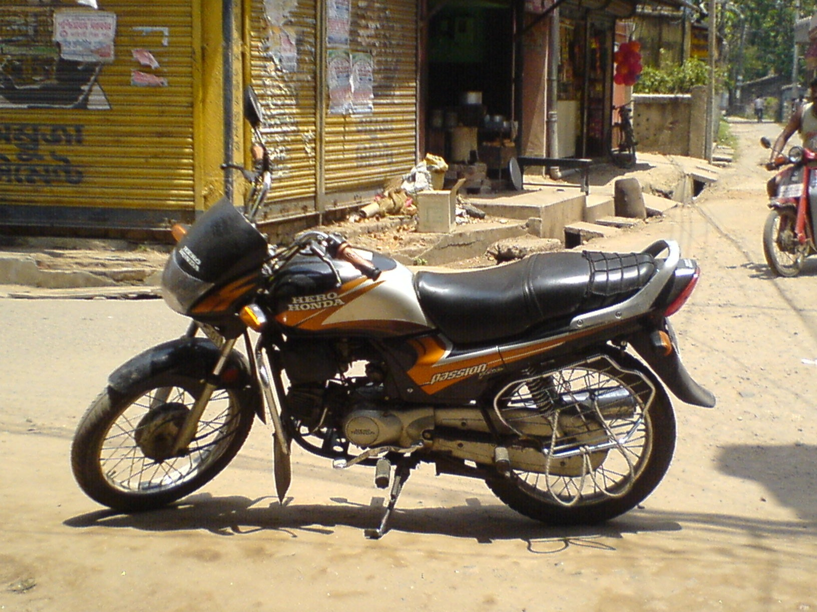 Hero Honda Passion Plus 2008 #9
