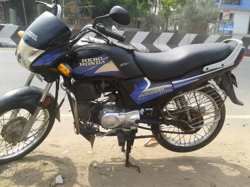 Hero Honda Passion Plus 2009 #10
