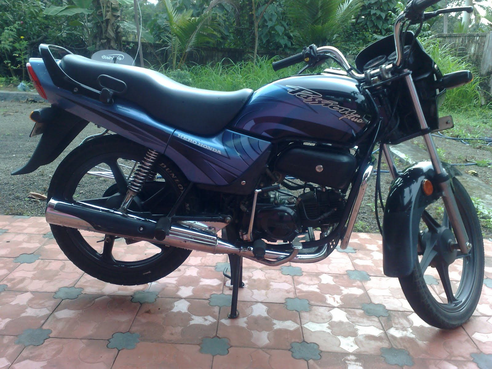 Hero Honda Passion Plus 2009 #2