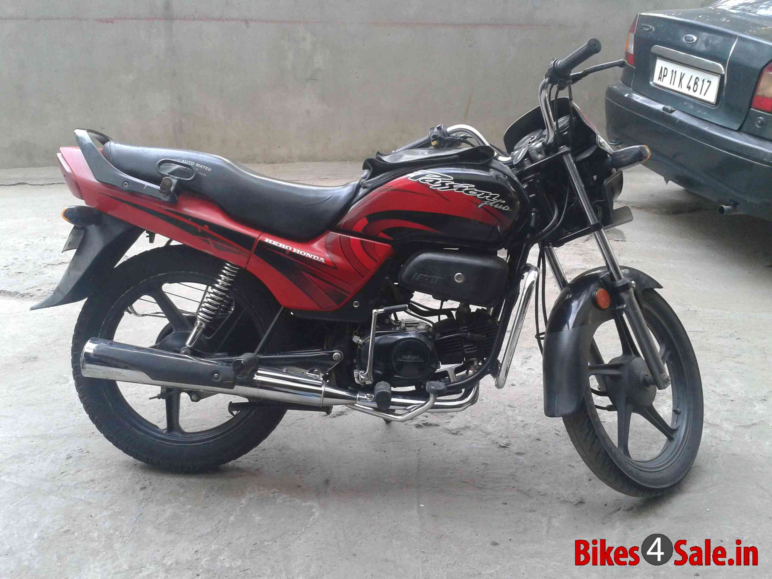 Hero Honda Passion Plus 2009 #7
