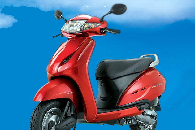 Hero Honda Pleasure 100 2010 #9