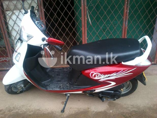 Hero Honda Pleasure 100 2010 #7
