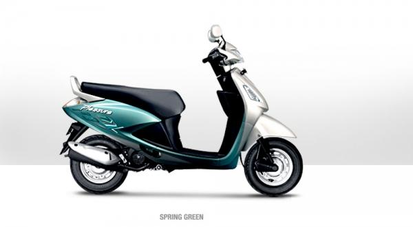 Hero Honda Pleasure 100 2011 #10