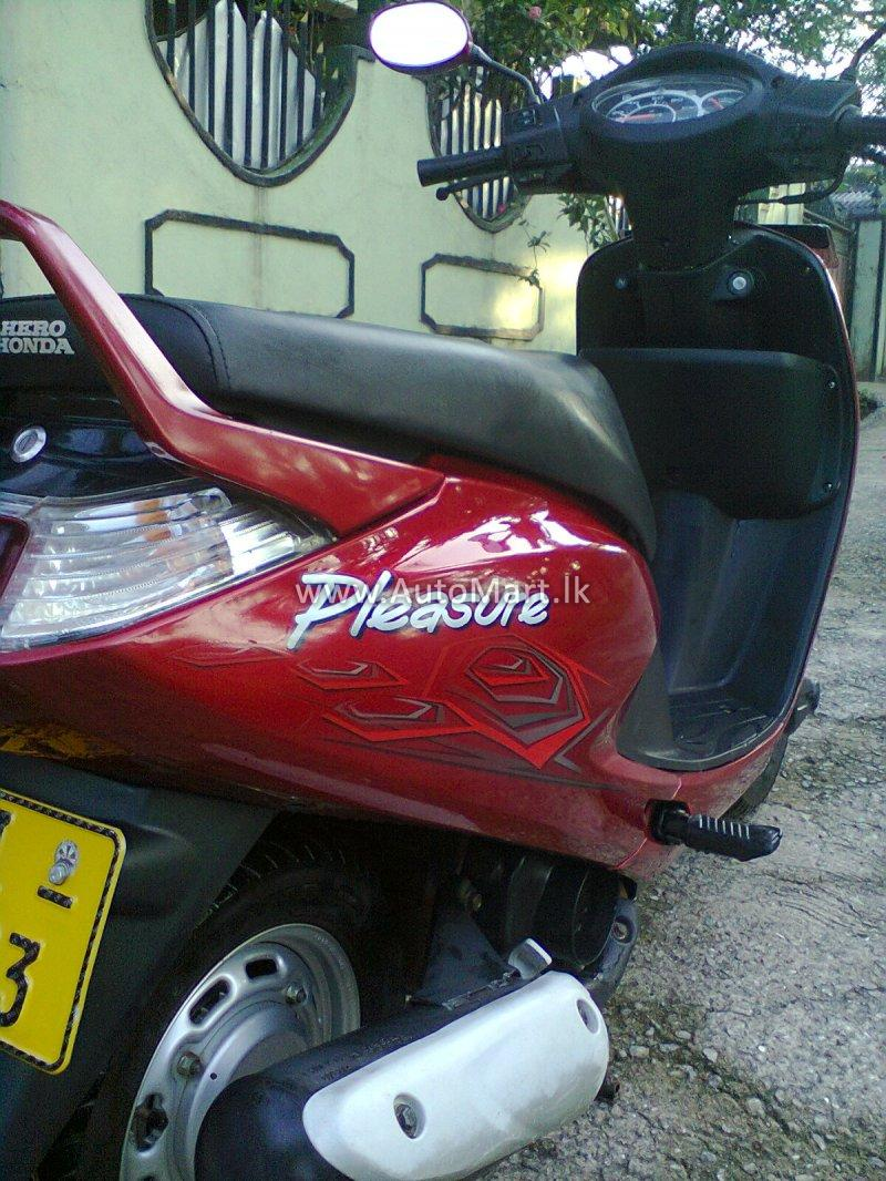 Hero Honda Pleasure 100 2011 #11