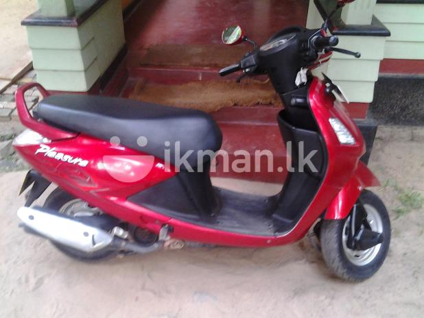Hero Honda Pleasure 100 2011 #13