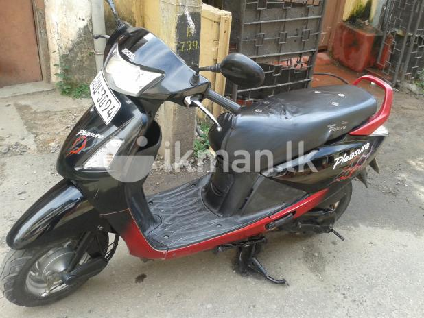 Hero Honda Pleasure 100 2011 #7